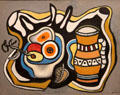 Orange Vase painting by Fernand Léger at McNay Art Museum. San Antonio, TX.