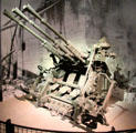 Japanese triple-barrel gun used on Tarawa at National Museum of the Pacific War. Fredericksburg, TX.