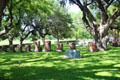 Johnson family cemetery at LBJ Ranch. Stonewall, TX.