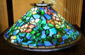 Tiffany lamp shade in Visitors' Center at McFaddin-Ward House. Beaumont, TX.