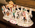 Porcelain figure of carriage with outriders at Earle-Napier-Kinnard House. Waco, TX.