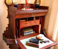 Details of writing desk at East Terrace House. Waco, TX.