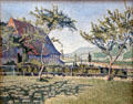 Comblat-le-Château, the Meadow painting by Paul Signac at Dallas Museum of Art. Dallas, TX.