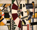 Composition painting by Fernand Léger at Kimbell Art Museum. Fort Worth, TX.