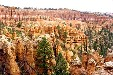 Formations of Bryce Canyon National Park. UT.