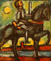 Painting of Joan of Arc by Georges Rouault Utah Museum of Fine Art. Salt Lake City, UT