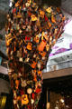 Tornado of 700 guitars in self-playing musical sculpture called If XI was IX by Trimpin at EMP|FSM. Seattle, WA.