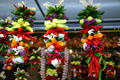 Garlands of peppers in Pike Place Market. Seattle, WA.