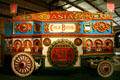 Antique Asia wagon of Cole Bros. circus at Circus World Museum. Baraboo, WI.