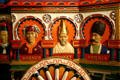 Borneo, Tibet & Persia figures on Asia wagon of Cole Bros. circus at Circus World Museum. Baraboo, WI.