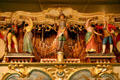 Animated figures on Royal American Shows Gavioli Band Organ at Circus World Museum. Baraboo, WI.