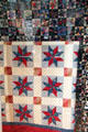 Quilt made by Campbell sisters at Mannington, Marion Co., at West Virginia State Museum. Charleston, WV.
