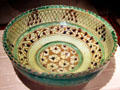 Footed earthenware bowl Iran at Huntington Museum of Art. Huntington, WV.