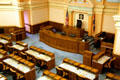 House chamber of Wyoming State Capitol. Cheyenne, WY.