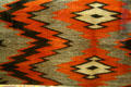 Navaho transitional wearing blanket at Nelson Museum of the West. Cheyenne, WY