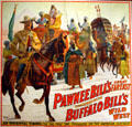 Poster of Oriental Vision for Buffalo Bill's Wild West & Pawnee Bill's Show at Buffalo Bill Center of the West. Cody, WY.