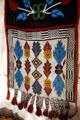 Beaded Indian bandolier bag at Laramie Plains Museum. Laramie, WY.